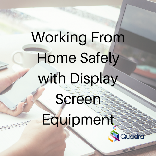 Working from home safely